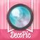 かわいい&おしゃれ!文字入れや写真加工はDECOPIC!無料の可愛いスタンプ・フレーム・フィルタでオシャレにデコれるカワイイカメラアプリ